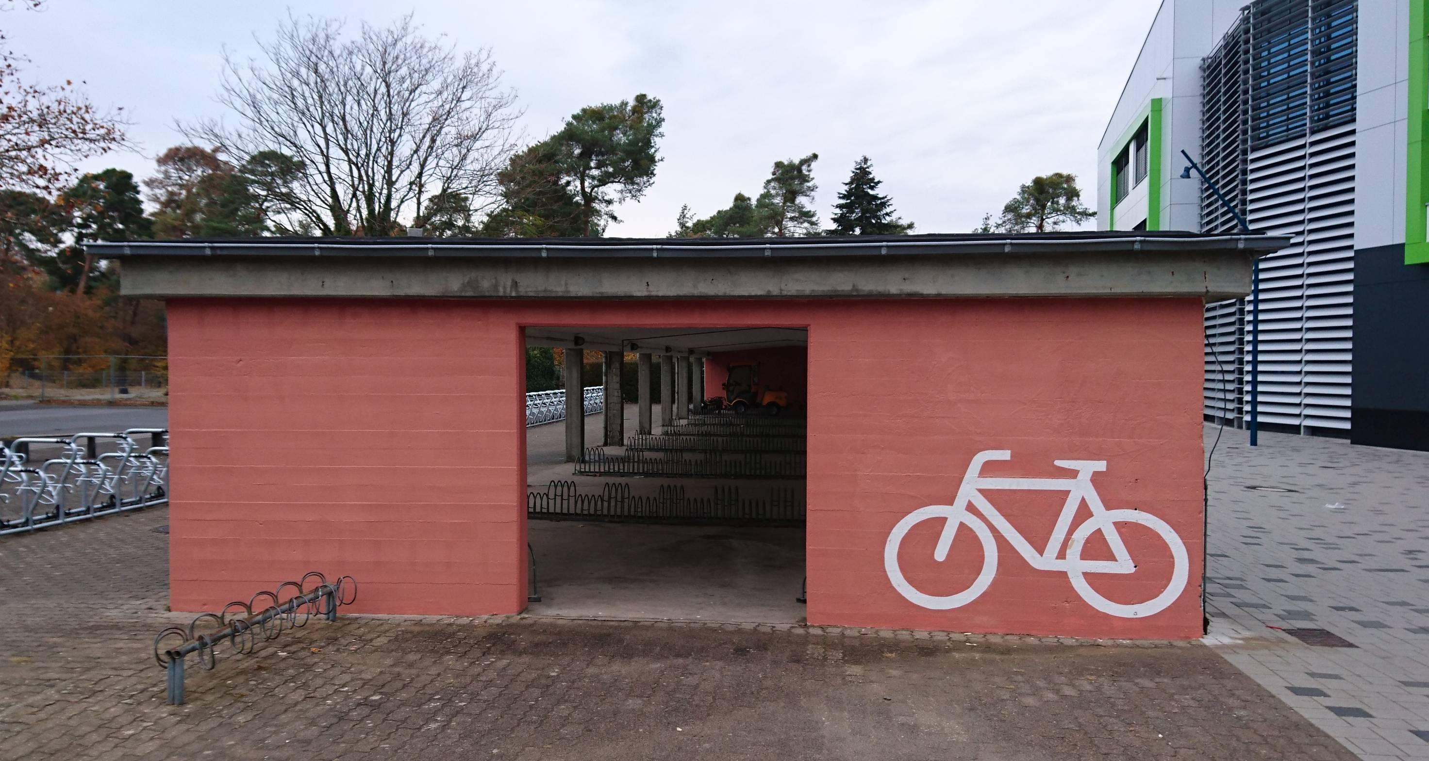GHS Fahrradständer neuer Anstrich